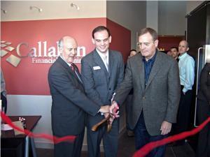 Omaha Mayor - Ribbon Cutting for Callahan Financial Planning